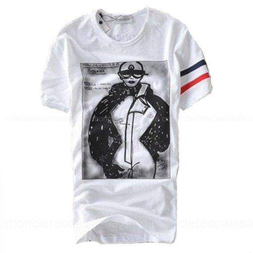 Moncler t shirts moncler women 2010 t shirt white for Off white moncler t shirt
